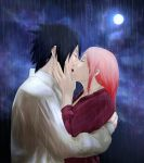 SasuSaku: Kiss Under the Rain by Lesya7
