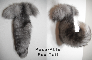 SOLD: Poseable Fox Tail by WolfForce58205