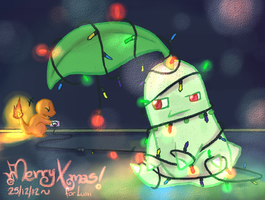 Xmas Tree~ by meriimerodii