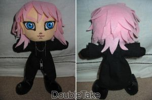 Marluxia Plushie by WhittyKitty