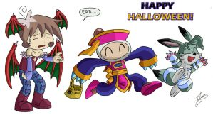 Happy Halloween 2008 by Ian-the-Hedgehog