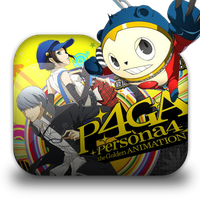 Persona 4 the Animation folder Icon by ReikoShironeki
