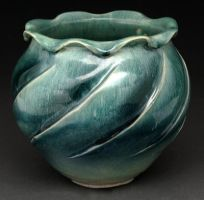 fluted spiral vase by cl2007