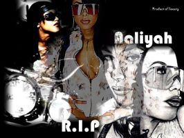 aaliyah the blak by likebutterfly