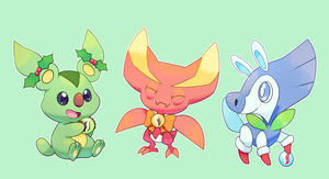 Starters receive a special gift! by zerudez