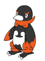 Fakemon- Penguaze by Casey333