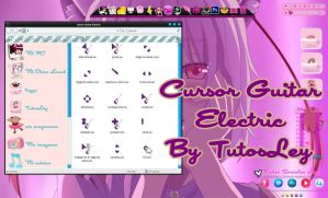 Cursor Guitar Electric Chicas by leyfzalley