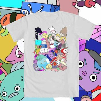 Bee and Puppycat Design on T-Shirt by hoity-toity-holiday