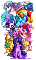 MLP: Friendship is Magic by Jiayi