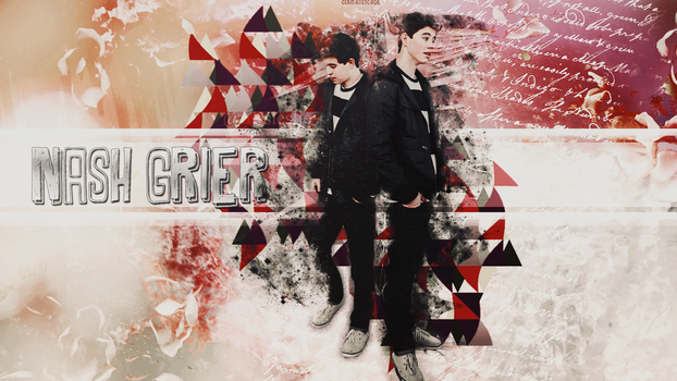 Nash Grier Wallpaper by LesliiEditions