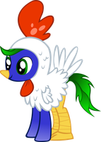 Stormcloud the Chicken by Gray-Gold