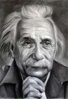Albert Einstein 2 by donchild