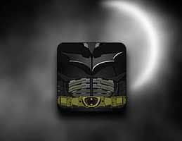 Dark Knight Rises Icon - Jaku theme by techniclez