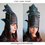 Alien Queen Helmet by DragonSpirit469