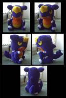 Garchomp Plush by Ashayx