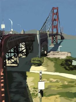 Golden Gate by EvilReasons