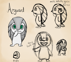 Arguard concept sketches by littlewoodlouse