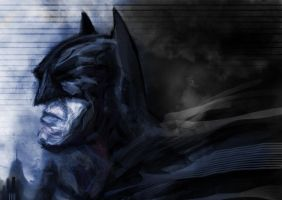 Doodle Batman by Thomacek