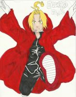 Edward Elric Kick by ChocolateCereal