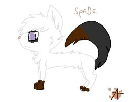 Spade by KatWolfKid