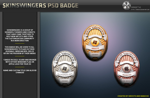 SkinSwingers Badge by mrrste
