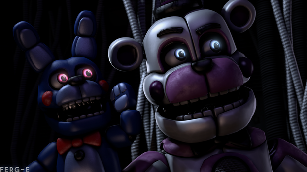(FNaF SFM) I hear a sound! by Ferg-E