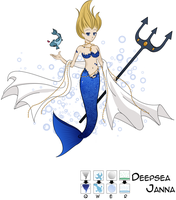 Deep Sea Janna by melopepon