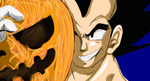 Halloween Contest - Vegeta by Gokuran