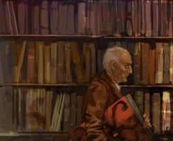 Strange-Librarian by sedone