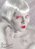 Snow Queen II by ArtOfAdornment