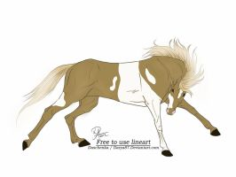 Wild Horse Adoptable 2 by Julia-adopts