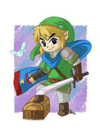 Toon Hyrule Warriors by Samayume