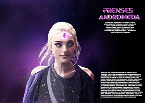 Andromeda by lying-figure