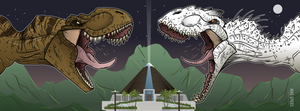 T-Rex Vs I-Rex by spiers84