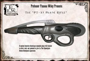 The PT-37 Phase Rifle by davincisghost