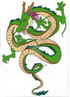 Shenron Tattoo Design by Squishy-Mew