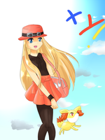 Pokemon XY fanart by Yuna-Lesca