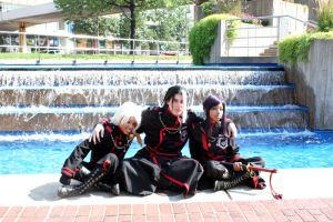 Otakon 2010: The Guys by Pandothiel-Elrond