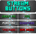 MINECRAFT STREAM BUTTONS v.1 by XONSOLE