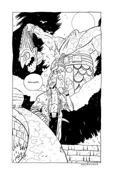 Hellboy and Head Lopper by Andrew-Ross-MacLean