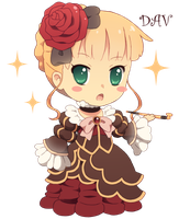 Chibi Beatrice by DAV-19