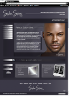 Salon Sims Website by just-is
