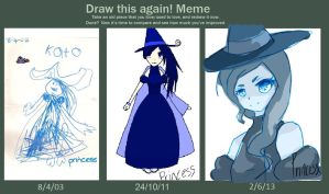 Before and After Witch Princess - Again?! by BaselessChan