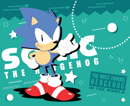 The most famous hedgehog in the world by SonicTheBlueStar