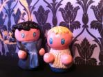 John and Sherlock figure thingies by Robinstar99