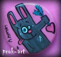 new rabbit pin by prok-art