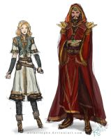 bg2 outfits by artastrophe