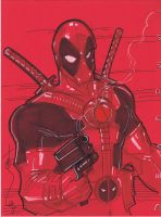 Deadpool Again by Hodges-Art