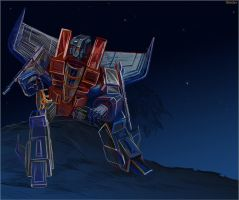 Starscream's Ghost by darefi