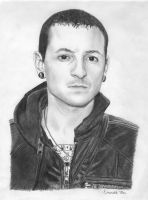 Chester Bennington by ihatepickingnames
